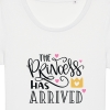 Tricouri personalizate cu mesaj the princess has arrived