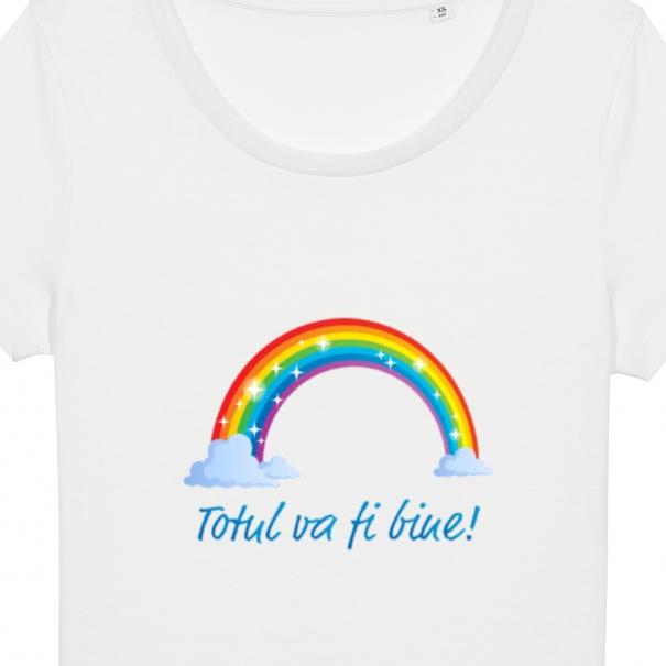 Tricouri personalizate cu mesaj totul va fi bine