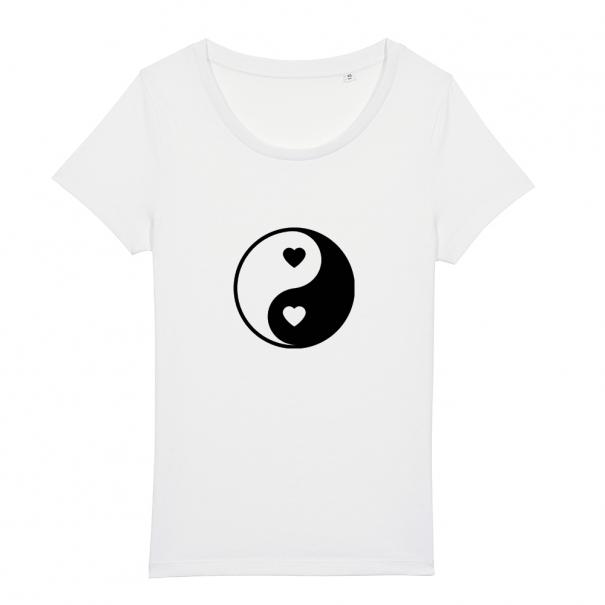 Tricouri personalizate cu ying si yang