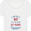 Tricouri personalizate cu mesaj I am not