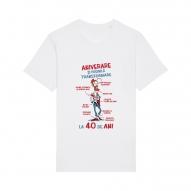 Tricouri personalizate cu mesaj aniversare si posibila transformare