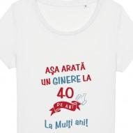 Tricouri personalizate cu mesaj asa arata un ginere