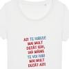 Tricouri personalizate cu mesaj azi te iubesc mai mult
