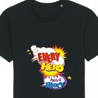 Tricouri personalizate cu mesaj every hero