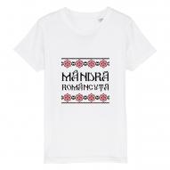 Tricouri personalizate cu mesaj mandra romancuta