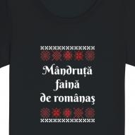Tricouri personalizate cu mesaj mandruta faina