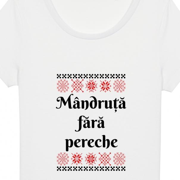 Tricouri personalizate cu mesaj mandruta fara pereche