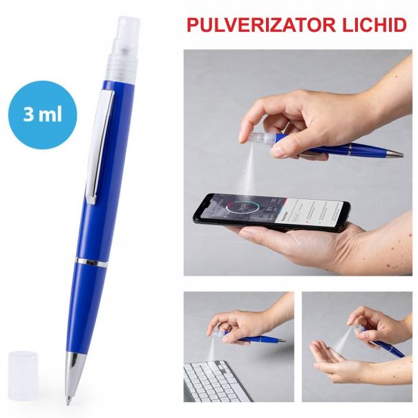 Pix cu pulverizator pentru lichid dezinfectant personalizat diverse culori (2)