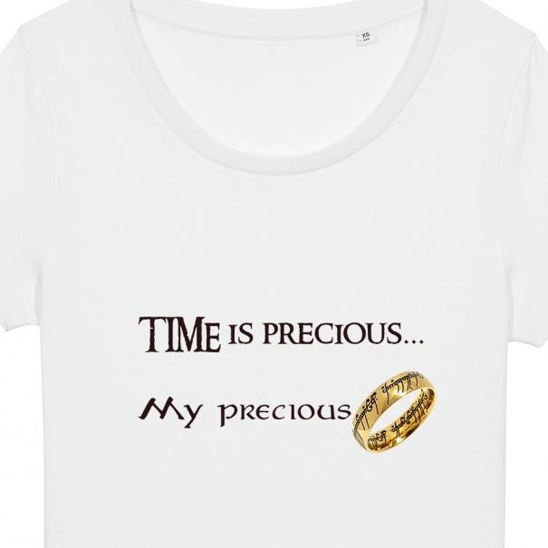 Tricouri personalizate mesaj time is precious