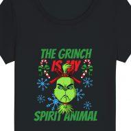 Tricouri personalizate de Craciun cu mesaj the grinch